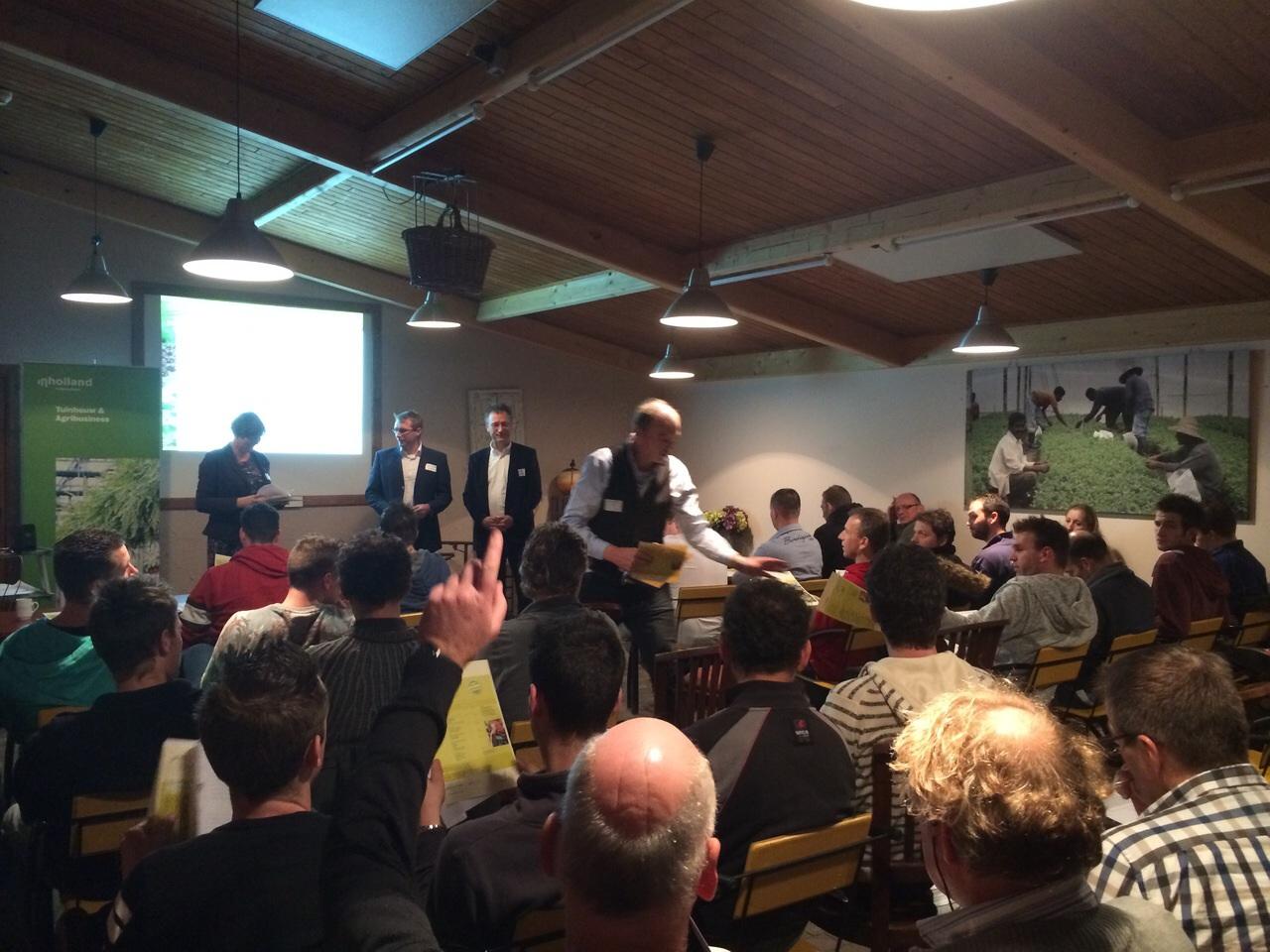 Bijeenkomst opleiding hbo teeltspecialist groot succes for Opleiding tuinarchitectuur hbo